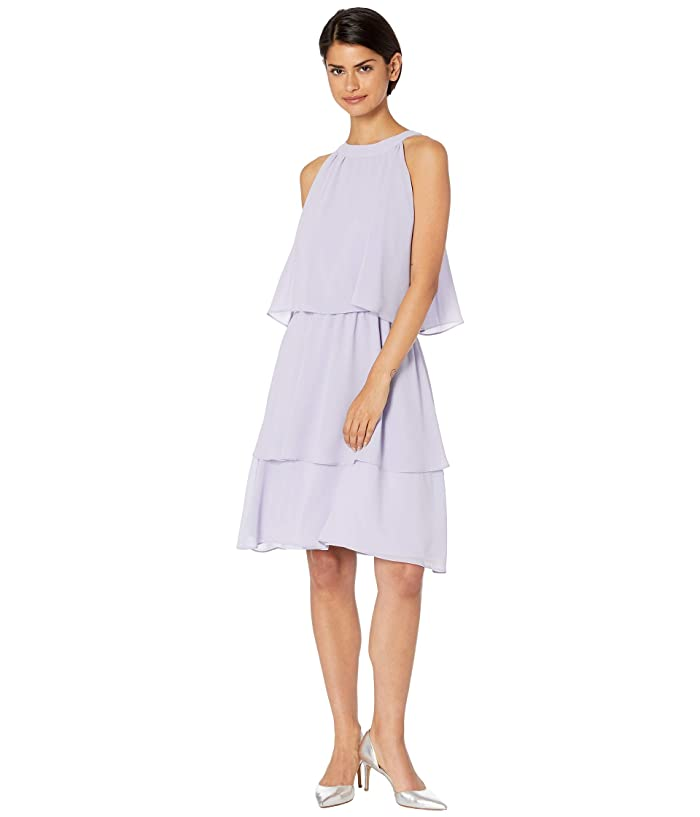 Cupcakes and Cashmere Livia Ruffle Detailed Dress (Soft Lavender) Women