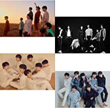 BigHit BTS Love Yourself Tear (Y+O+U+R Version) 4 Unfolded Official Posters in Tube (23.4 X 16.4 inch)