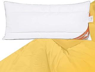 ComfortAce® Strauss Oreiller 40 x 80 cm en plumes / duvet de qualité supérieure avec housse 100 % coton avec garnissage en...