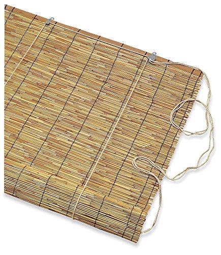 Verdelook rolluiken van bamboe, 90 x 180 cm, parasol