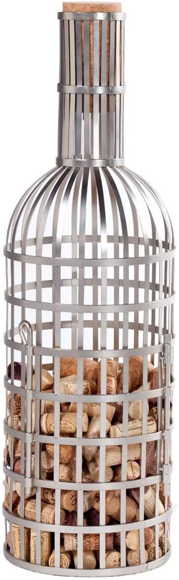 Oenophilia Metal Extra Large Cork Collector Holder with Max 63% OFF Quantity limited Sto