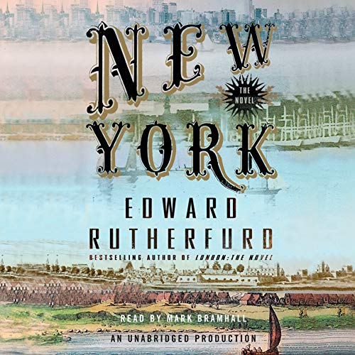 New York audiobook cover art