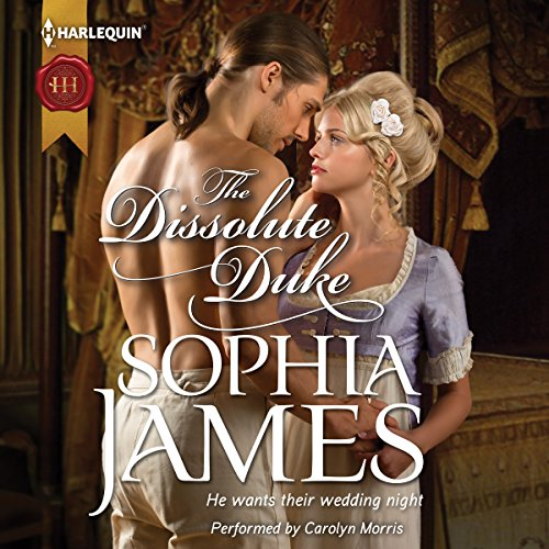 The Dissolute Duke audiobook cover art