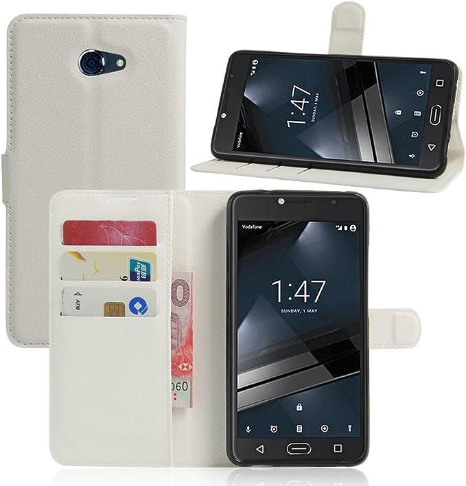 Manyip Vodafone Smart Ultra 7 Hülle Pu Flip Leder Elektronik