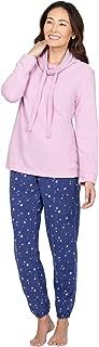 Fleece Pajamas for Women - Jogger PJs for Women Set
