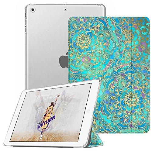 Fintie Coque pour iPad Mini iPad Mini 2 iPad Mini 3 - SlimShell Cover Etui Housse avec Support Ultra-Mince et léger avec Semi-Transparent Protecteur et la Fonction Sommeil/Réveil, Jade