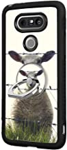 Feloowse Case for LG G5 Case with Ring Holder Stand Sheep Fence Pattern Design LG G5 Anti-Slip TPU + Hard PC Back Case
