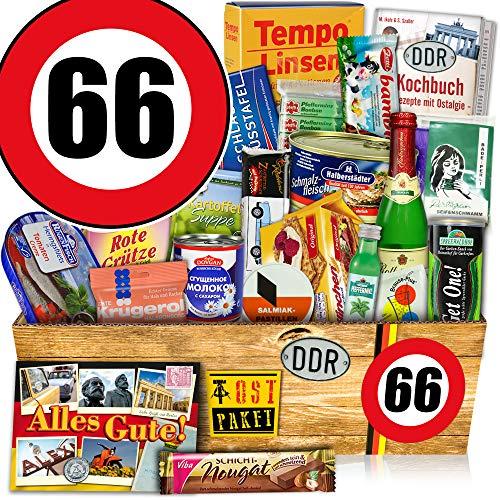 DDR Paket / Zahl 66 / Geschenk Ideen Papa / Spezial Geschenk Box