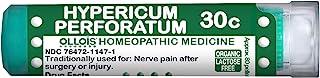 OLLOIS Organic & Lactose-Free Hypericum Perforatum 30C, Homeopathic Medicine, 80 Pellets, for Nerve Pain