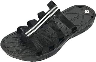 Summer men flip flops open toe slippers fashion beach shoes massage bath sandals quick-drying flip-flops
