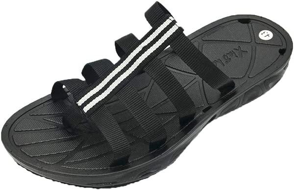 Fashion Men S Flip Flops Fashion Clip Toe Sandals Non Slip Flat Beach Slippers