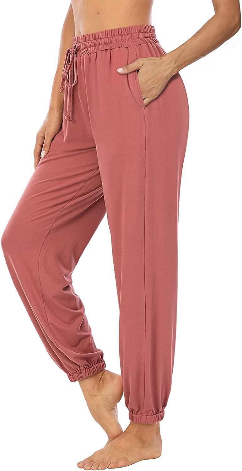 LEXISLOVE Womens Yoga Joggers Sweatpants 2021 autumn and winter new Loose Free shipping New Comfy Drawstring