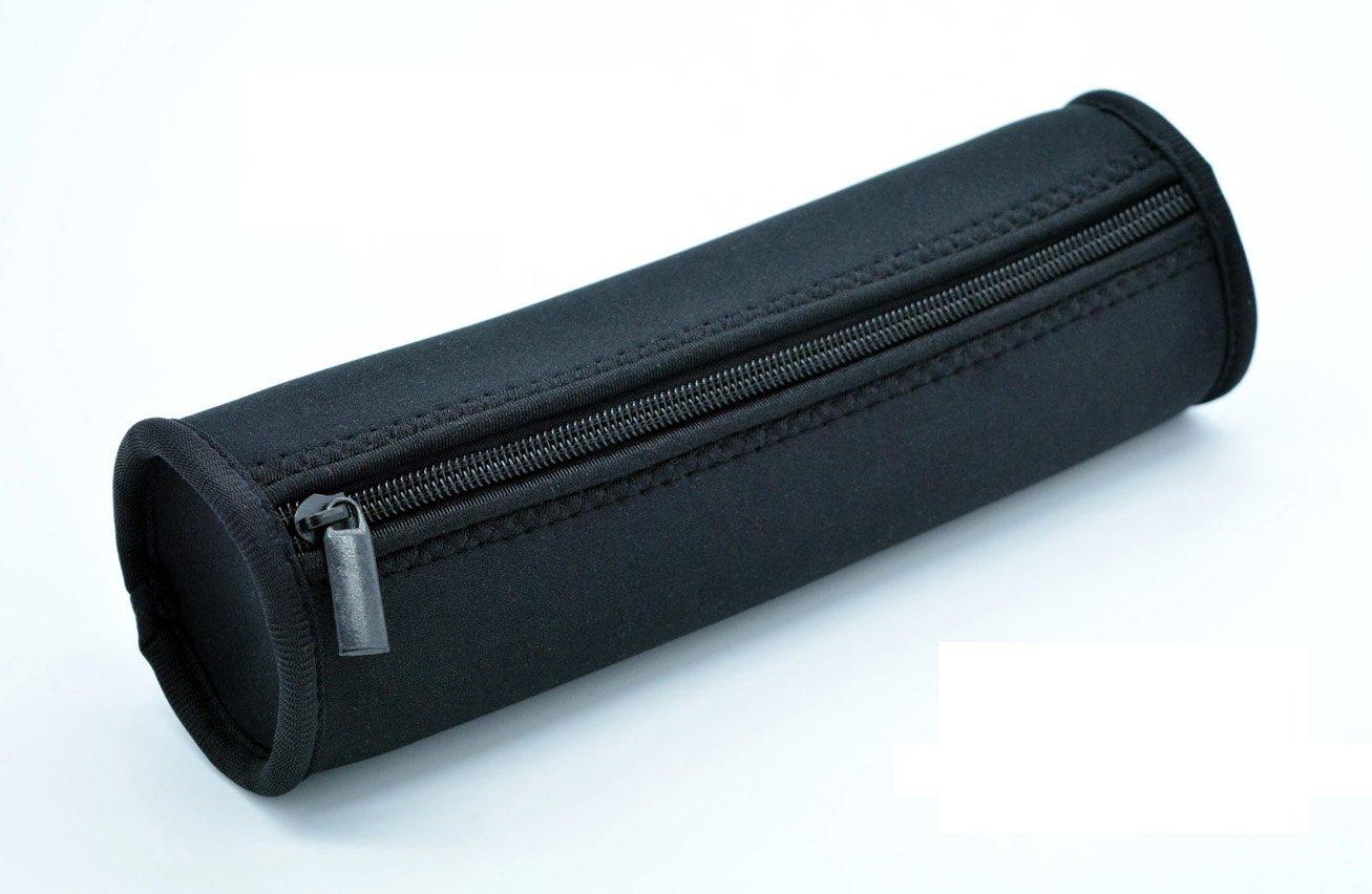 Case Wonder de Neopreno Color Negro Lápiz Estuche Soporte Bolso de la Bolsa de Almacenamiento: Amazon.es: Oficina y papelería