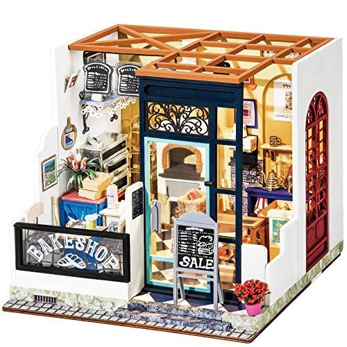 Rolife DIY Miniature Dollhouse Tiny House Building Kit Nancy's Bake Shop