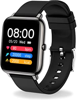 """MuGo Smart Watch, IP67 Swimming Waterproof, Activity Tracker with 1.4"""" Touch Screen, Fitness Tracker with Heart Rate Monit..."""