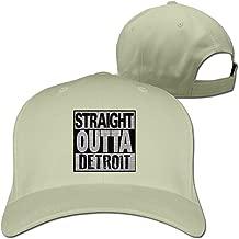 Straight Outta Detroit Adjustable Unisex Basketball Cap