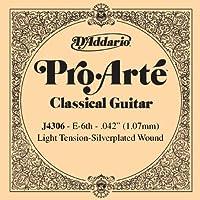 D'Addario ダダリオ クラシックギター用バラ弦 プロアルテ E-6th J4306 【国内正規品】