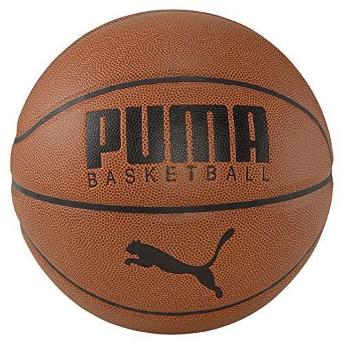 PUMA PUMA - Camiseta de baloncesto de piel para hombre, color marrón y negro