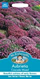 Mr Fothergill's 25474 Flower Seeds, AUBRIETA Cascade Mixed
