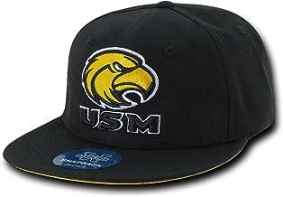W Republic The Freshman, College Snapbacks (University of Southern Mississippi, Black)