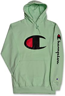 d76bf8e9 Champion Big and Tall Mens Fleece Pullover Hoodie with Big C Logo