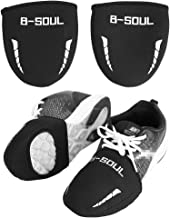 Wbestexercises Cycling Shoes Cover Overshoes, Windproof Half Shoecover, Tongue Design Super Thermal Toe Cover, Warm Bicycle Bike Ride Shoes Cover