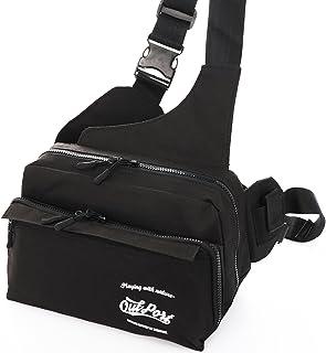 Outport フィッシングバッグ ワンショルダー ウエストバッグ 釣り タックルバッグ
