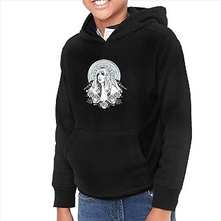Divinity Stevie Nicks Boys Girls Long Sleeve Hoodies Juvenile Sweatshirts Black