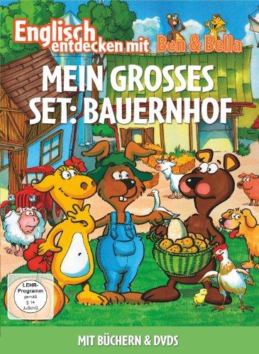 Englisch entdecken mit Ben & Bella - Mein großes Set: Bauernhof (2 Discs, + Bücher)