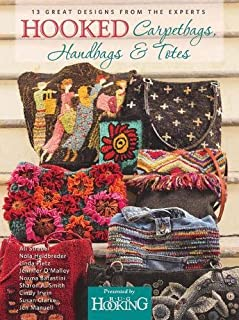 rug hooked bags