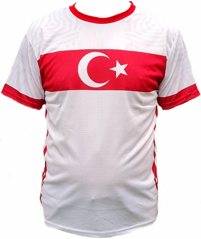 Fußball Fan-Trikot Türkei, EM & WM Trikot der türkischen Nationalmannschaft in rot oder weiß