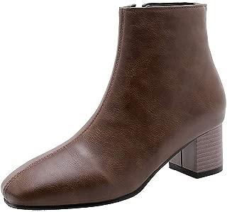 BalaMasa Womens ABS13919 Pu Boots