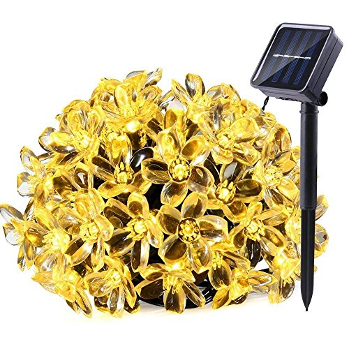 LE 5M 50 LEDs Catene luminose a LED, Pannello Solare...
