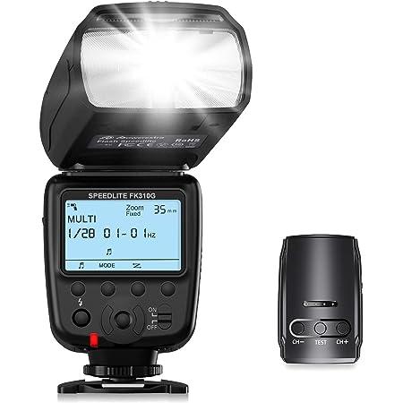 Powerextra Blitzgerät Mit Lcd Anzeige Und 2 4g Wireless Kamera