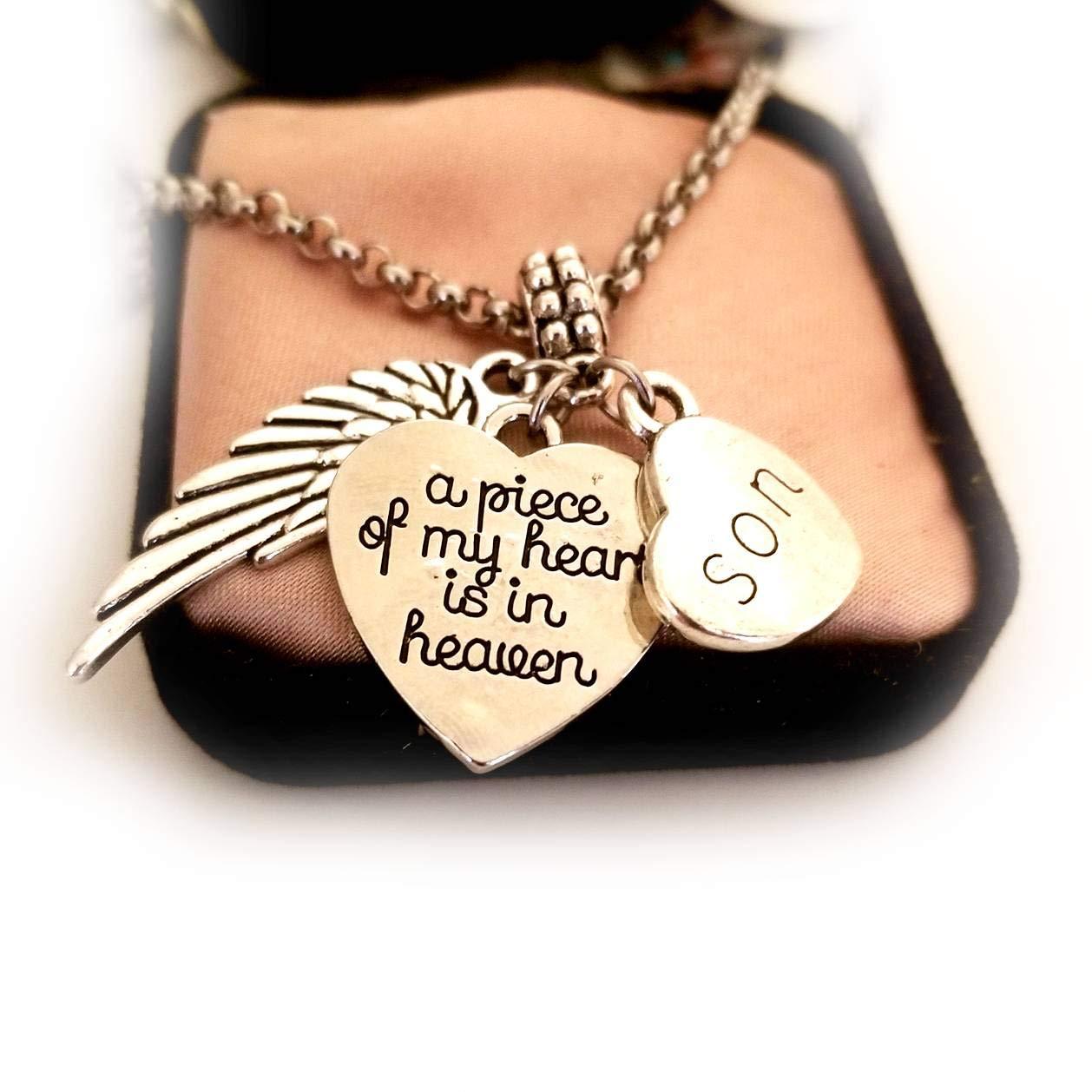 Son Seasonal Wrap Introduction Memorial Selling rankings Gifts Keepsake Charm with Keycha Bracelet Necklace