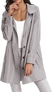 Womens Lightweight Hooded Waterproof Active Outdoor Rain Jacket
