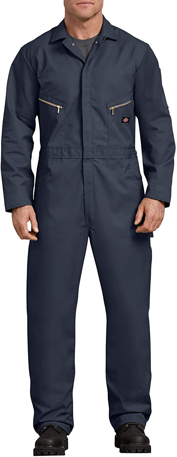 Cheap Now on sale mail order shopping Dickies Men's 7 1 2 Ounce Sleeve Twill Deluxe Long Coverall