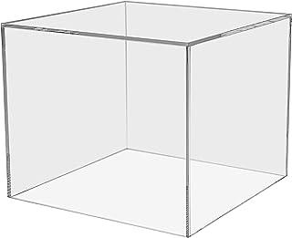 """دارنده بازاریابی اکریلیک عملکردهای پایه نمایشگاه جعبه مجسمه سازی مجسمه سازی مجسمه سازی مجموعه جلویی مکعب جایزه تی شرت نمایشگاه ایستگاه نمایشگاه رویداد عروسی پذیرش ذخیره سازی 7 """"و مربع مکعب"""