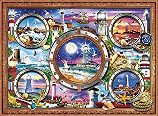 Buffalo Games - Marine Color - from Sea to Shining Sea - 1000 Piece Jigsaw Puzzle