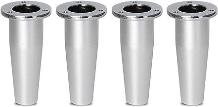 Meubelpoten 4 STKS 4/6/8 in hoogte verstelbaar Aluminium Legering Metalen voeten Vervanging Keukenkast Stoelpoten