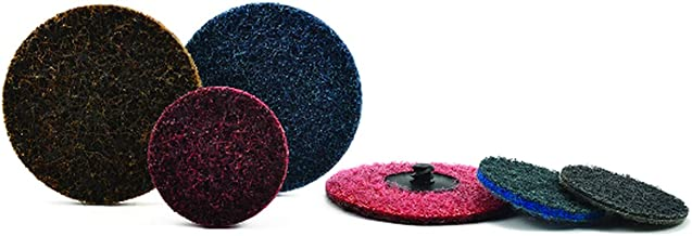 Pack of 100 Superior Abrasives 11967 SHUR-KUT 3//4in x 1in Aluminum Oxide Spiral Band 120 Grit