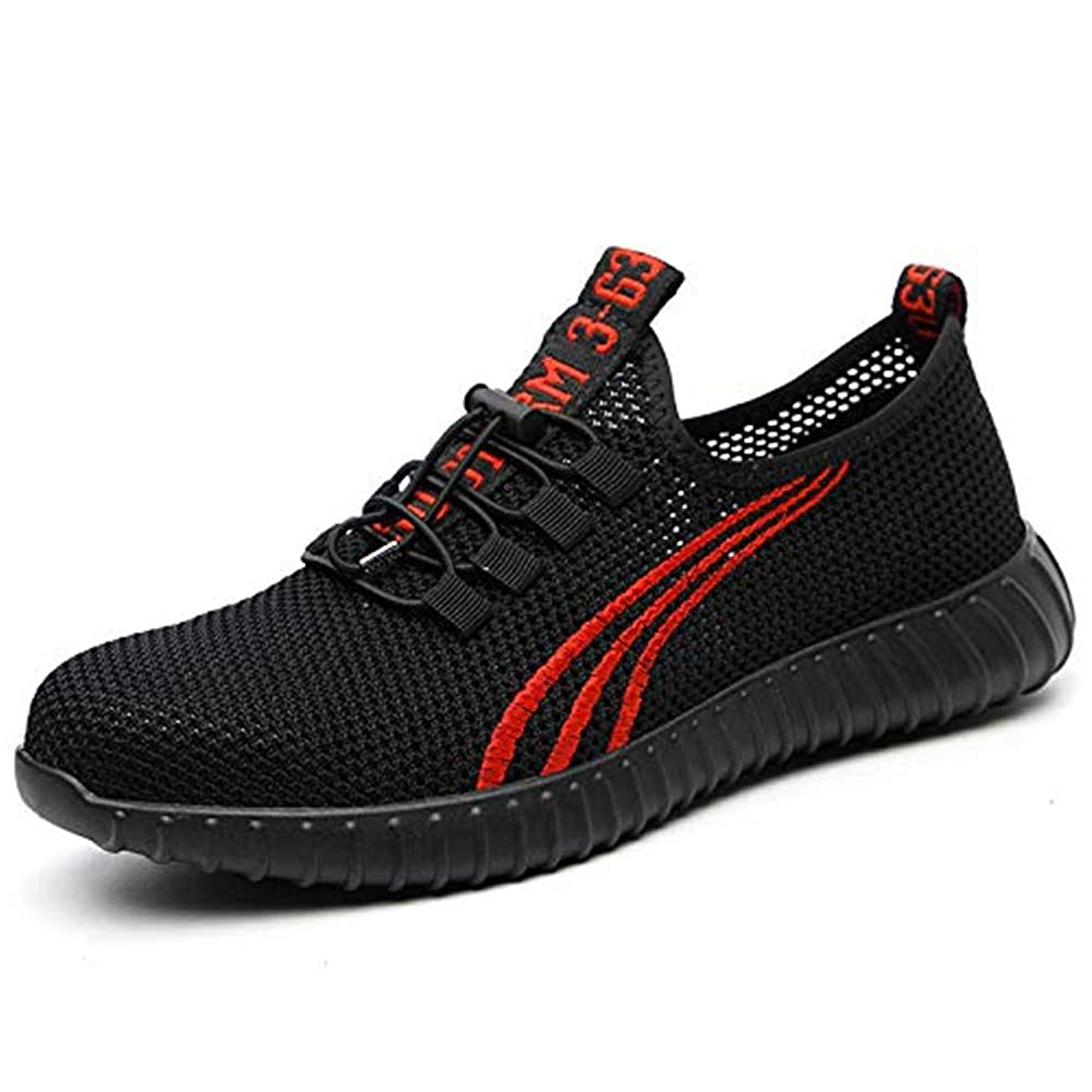 裕福な処理するペン[ブルーポメロ] 安全靴 作業靴 サンダルタイプ スニーカー メンズ メッシュ 超通気 鋼先芯 ケブラー繊維ミッドソール 軽量 夏場対応 男女兼用