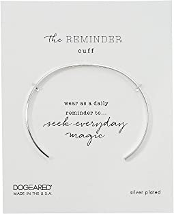 The Reminder Thin Engraved Cuff Bracelet, Seek Everyday Magic
