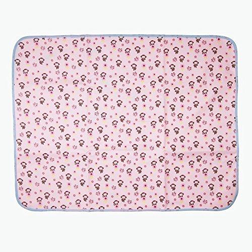 Cotton Bamboo Fiber Breathable Waterproof Underpads Mattress Pad Sheet Protector Reusable, Soft Cotton Blend