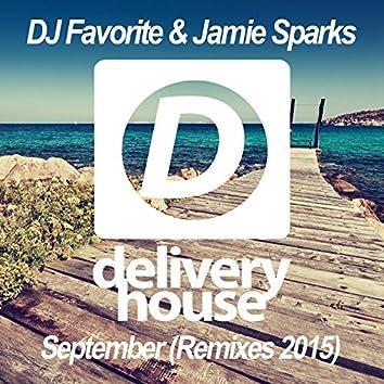 September (Official Remixes 2015)