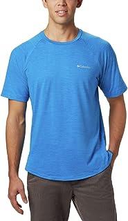 Columbia Men's Tech Trail II Short Sleeve Crew Shirt, UPF...