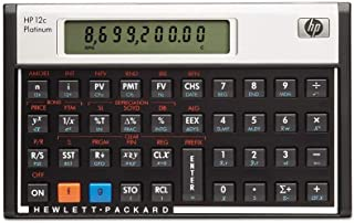 Calculadora Financeira Hp Platinum 12c Portugues