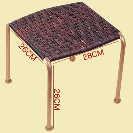 LJL Fashion Creative Small Furniture Anti-Slip Stool Footstool Work Stool Shower Stool Step Stoo