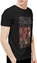 Younger men Mens Funny Morbid Angel Kingdoms Disdained T-Shirts and Washed Denim Hat Casquette Black