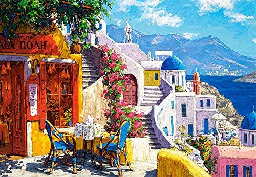 Castorland C-104130-2 Afternoon on The Aegean Sea, 1000 Teile Puzzle, bunt